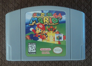 Super Mario 64 Nintendo 64 Envio Gratis