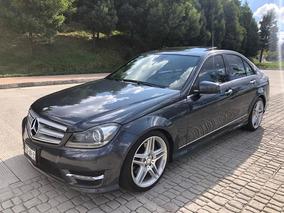 Mercedes Benz Clase C C350 2013 Sport Piel Qc Gps Impecable!