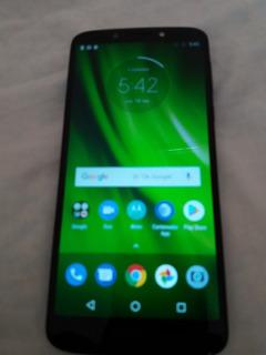 Motorola G6 Play Azul Índigo . El De 3 De Ram $2500.