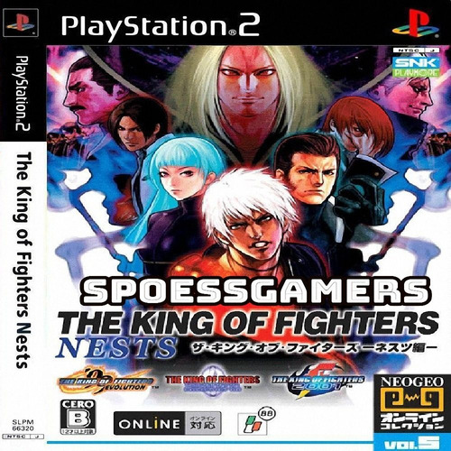The King Of Fighters Nests ( Luta ) Ps2 Desbloqueado Patch