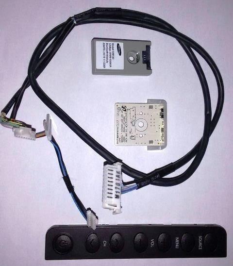 Cabo Lvds Sensor Ir Botão Teclado Wifi Un46d7000 Un46d7000lg