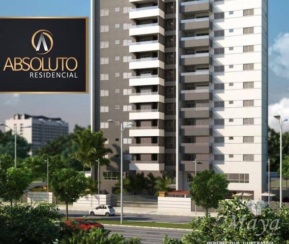 Apartamentos 3 Suítes, 110 M² Na 306 Sul - Residencial Absoluto - Ap0061
