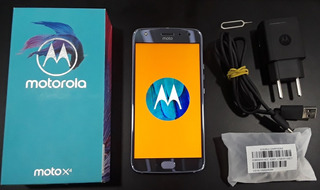 Usado: Smartphone Motorola Moto X4 32gb 3gb 5.2 12mp - Azul