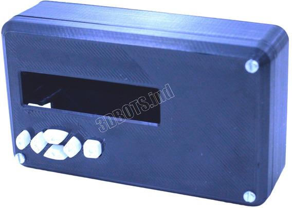 Case Display Lcd 16x2 C/botões Arduino Mega Ou Uno