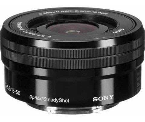 Lente Sony 16-50mm F/3.5-5.6