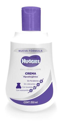 Crema Huggies Cuidado Relajante Manzanilla 250ml