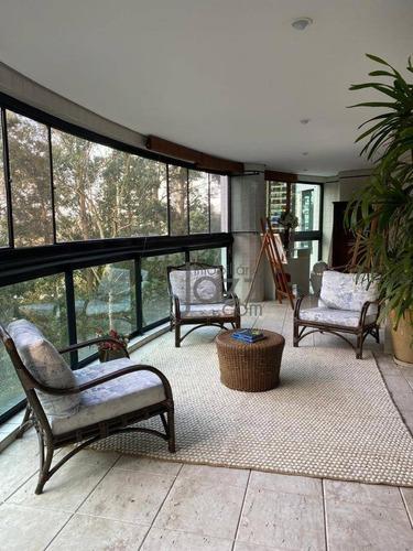 Apartamento Com 4 Dormitórios À Venda, 400 M² Por R$ 4.500.000,00 - Jardim Morumbi - São Paulo/sp - Ap4932