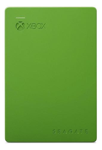 Imagen 1 de 2 de Disco duro externo Seagate Game Drive for Xbox STEA2000403 2TB verde