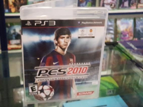 Pes 2010 Pro Evolution Soccer Usado Ps3 Mídia Física