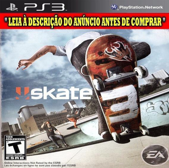 Skate 3 - Ps3 - Instalar Via Usb