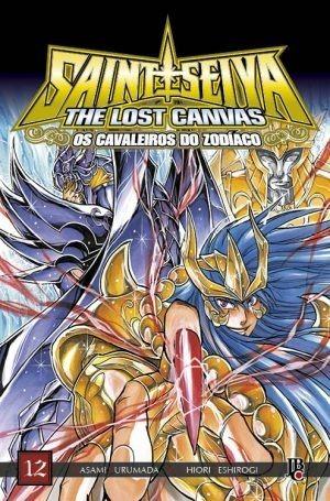 Lote Cavaleiros Do Zodíaco Lost Canvas Nº 12 E 13 Metalizado