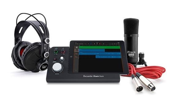 Interfase Focusrite Itrak Dock Studio Con Accesorios
