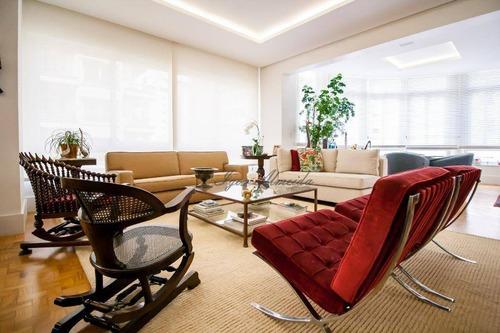 Apartamento Com 2 Dormitórios À Venda, 270 M² - Higienópolis - São Paulo/sp - Ap44783