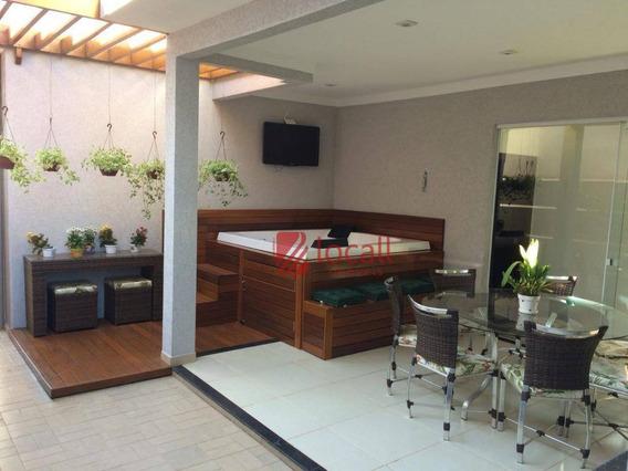 Casa Residencial À Venda, Loteamento Recanto Do Lago, São José Do Rio Preto. - Ca1516