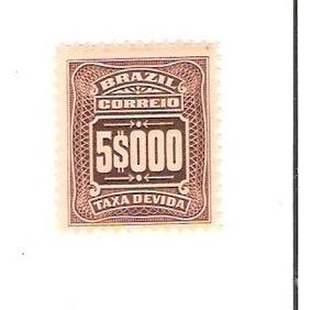 Lindo Selo Rhm X-39 - Taxa Devida - 5000 Réis - Vejam A Foto