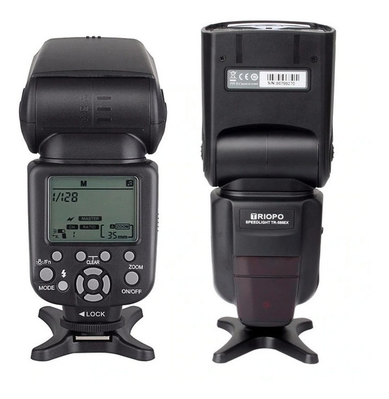 Flash Triopo Tr-586ex C Tr 586 Ex C Wireless Ttl Para Canon