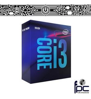 Fpc Procesador Intel I3 9100f 9va Gen Hasta 4.2ghz.incl Iva