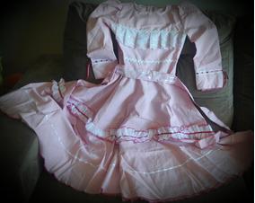 Vestido De Prenda Roupa Típica Gaúcha 10 Anos Promoção