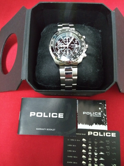 Relógio Masculino Police Navy Novo