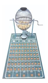 Bingo N°1 Globo (20cm) C/75 Bolas + Brinde 400 Cartelas Free