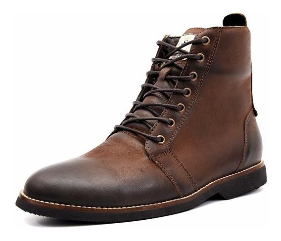Coturno Masculino Couro Style Shoes Grand 56150 Frete Grátis