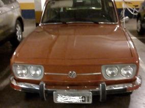 Volkswagen Variant - Original - Ano 74 - Placa Preta !