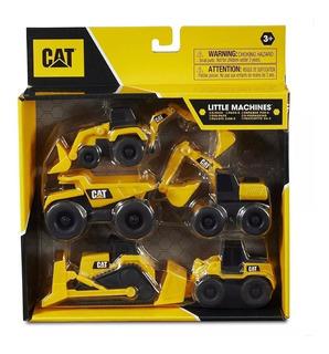Juguete Cat Maquinas Mini Pack X 5 Modelos Nenes Edu Full