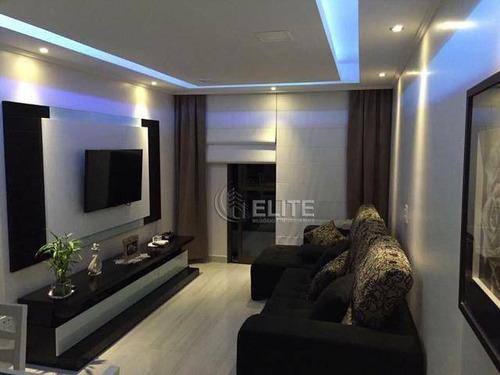 Apartamento Com 3 Dormitórios À Venda, 78 M² Por R$ 376.990,90 - Vila Príncipe De Gales - Santo André/sp - Ap12098