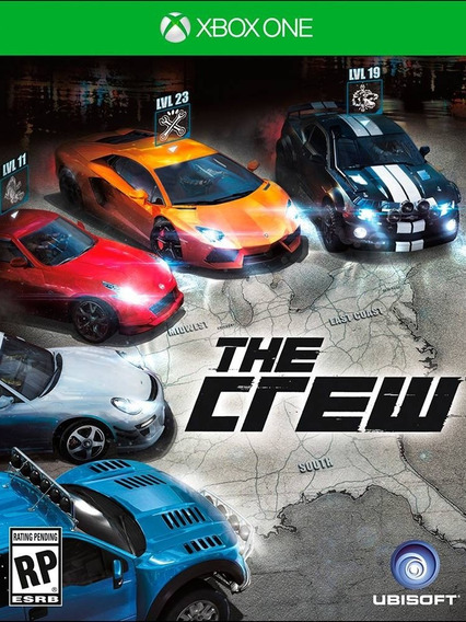 The Crew P/ Xbox One Código 25 Dígitos