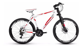 Bike Alfameq Alumínio Aro 26 Disco Downhill Kit Shimano 21 V