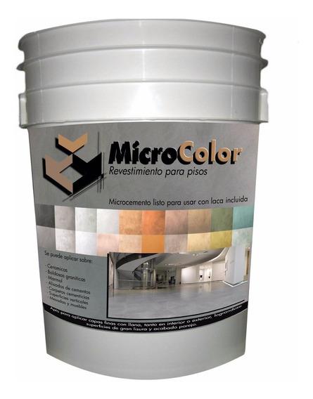 Kit De Micropiso 12 M2 , Cemento Alisado, Microcemento