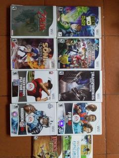 Juegos De Wii Originales Traidos Eeuu Usados.