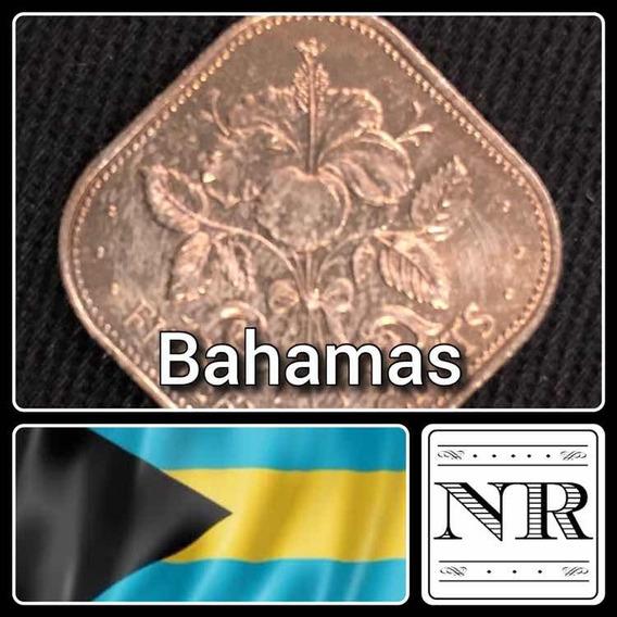 Bahamas - 15 Cents - Año 1969 - Km # 5 - Cuadrada