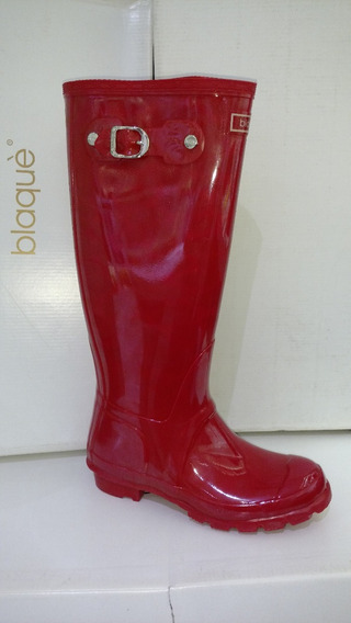 Bota Lluvia Tipo Hunter Larga Blaque