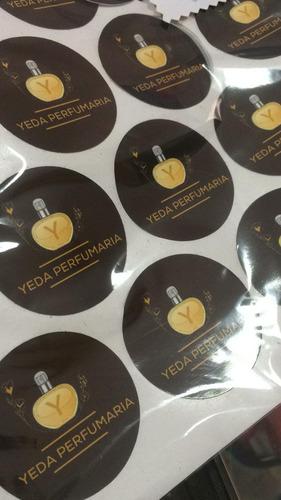 150 Adesivos Personalizados - Frete Grátis
