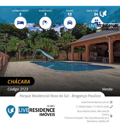 Imagem 1 de 15 de Imóveis À Venda Em Parque Residencial Rosa Do Sul - Bragança Paulista - 3123