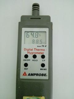 Termometro Industrial Mide Temperatura Ambiente Y Humedad