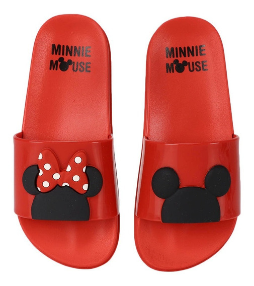 Chinelo Slide Infantil Grendene Minnie