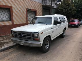 Ford F100 3.6 Gnc Camioneta Pick Up 1987 Fabrica Como Nueva