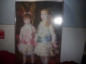 Poster /guadro .as,meninas Cabend Anvers,antigo 55/35