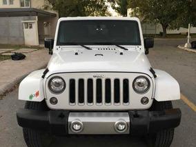 Jeep Wrangler 3.7 Sahara 3.6 4x4 At 2017