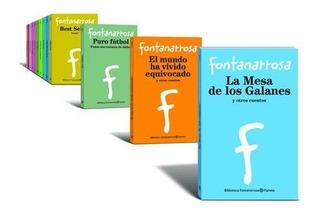 Fontanarrosa Cuentos Y Novelas 11 Libros Nuevos Planeta