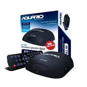 Aquario Dtv-5000s Conversor/gravador Digital Full Hd
