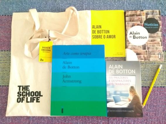 Alain De Botton: Kit Para Fãs Ou Presente C/exclusiva Ecobag