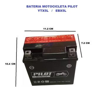 Bateria Moto Honda Xr125 / Xr150 (ytx5l) Pilot