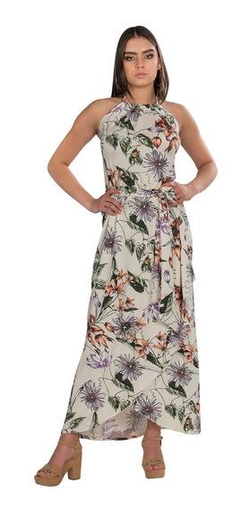 Vestidos Casuales Largos Flores