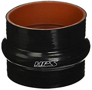 Hps Htshc-350-blk Silicone High Temperature 4-ply Reinforced