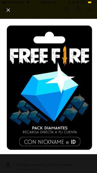 Diamantes Free Fire 3476 Diamantes Más Bonus