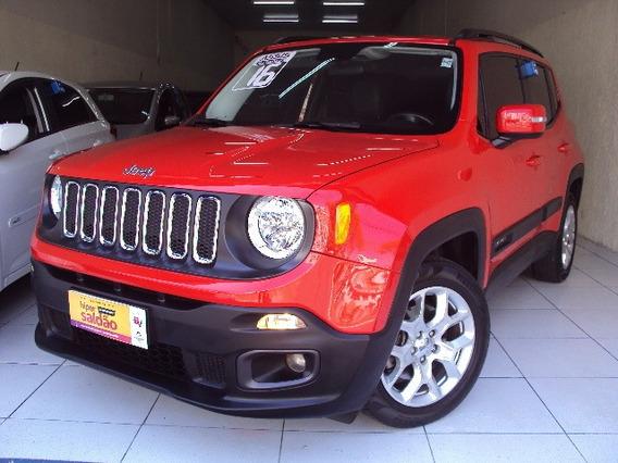 Jeep Renegade Longitude 1.8 16v Flex Ano 2016 Bancos Couro