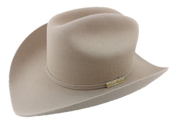 Sombrero Texana 6 X Marca West Point Color Silver Belly Lana